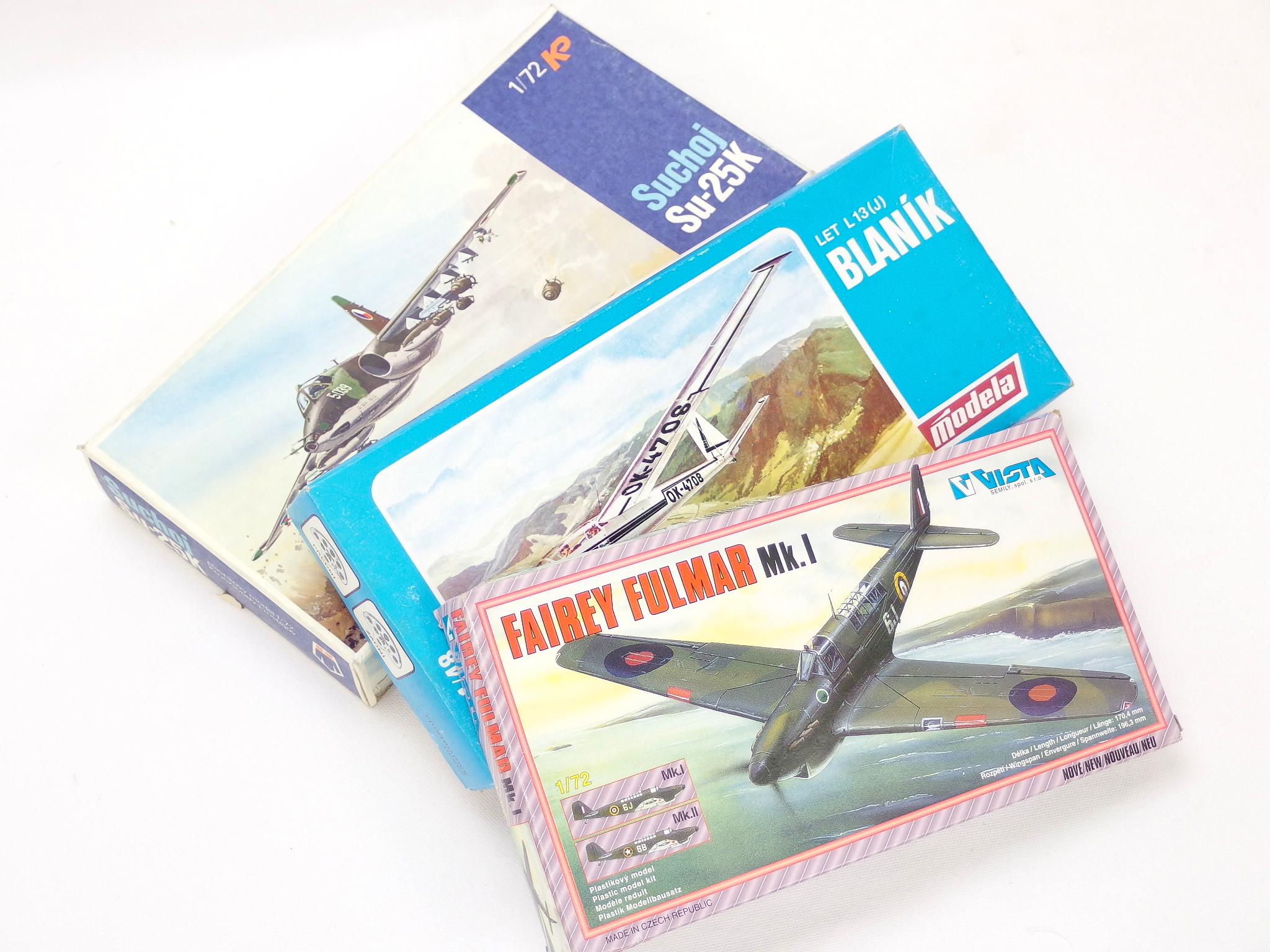 チェコ製プラモデル「KPモデルズ 1/72スケール スホーイ Su-25K」etc