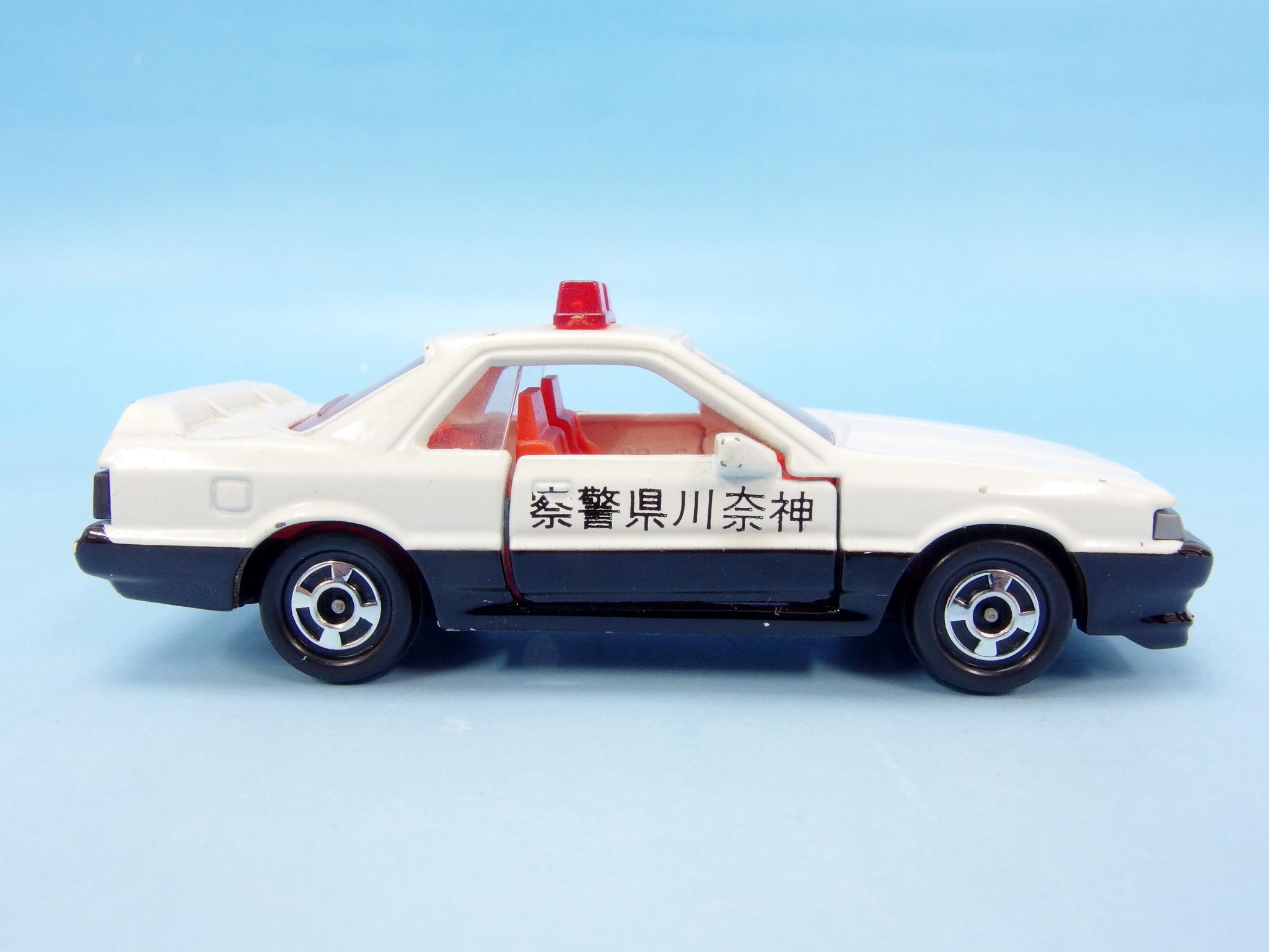 ミニカーショップイケダ特注 「トミカ 20-5-2 日産 スカイライン クーペ GTS 神奈川県警パトカー」