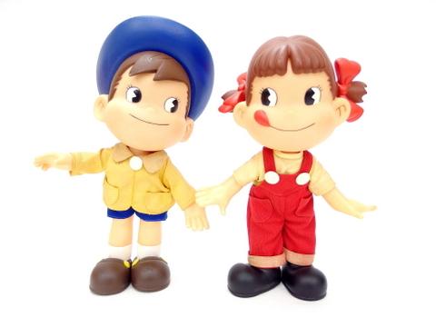 不二家 90年代 懸賞当選品 ペコちゃん ポコちゃん 人形