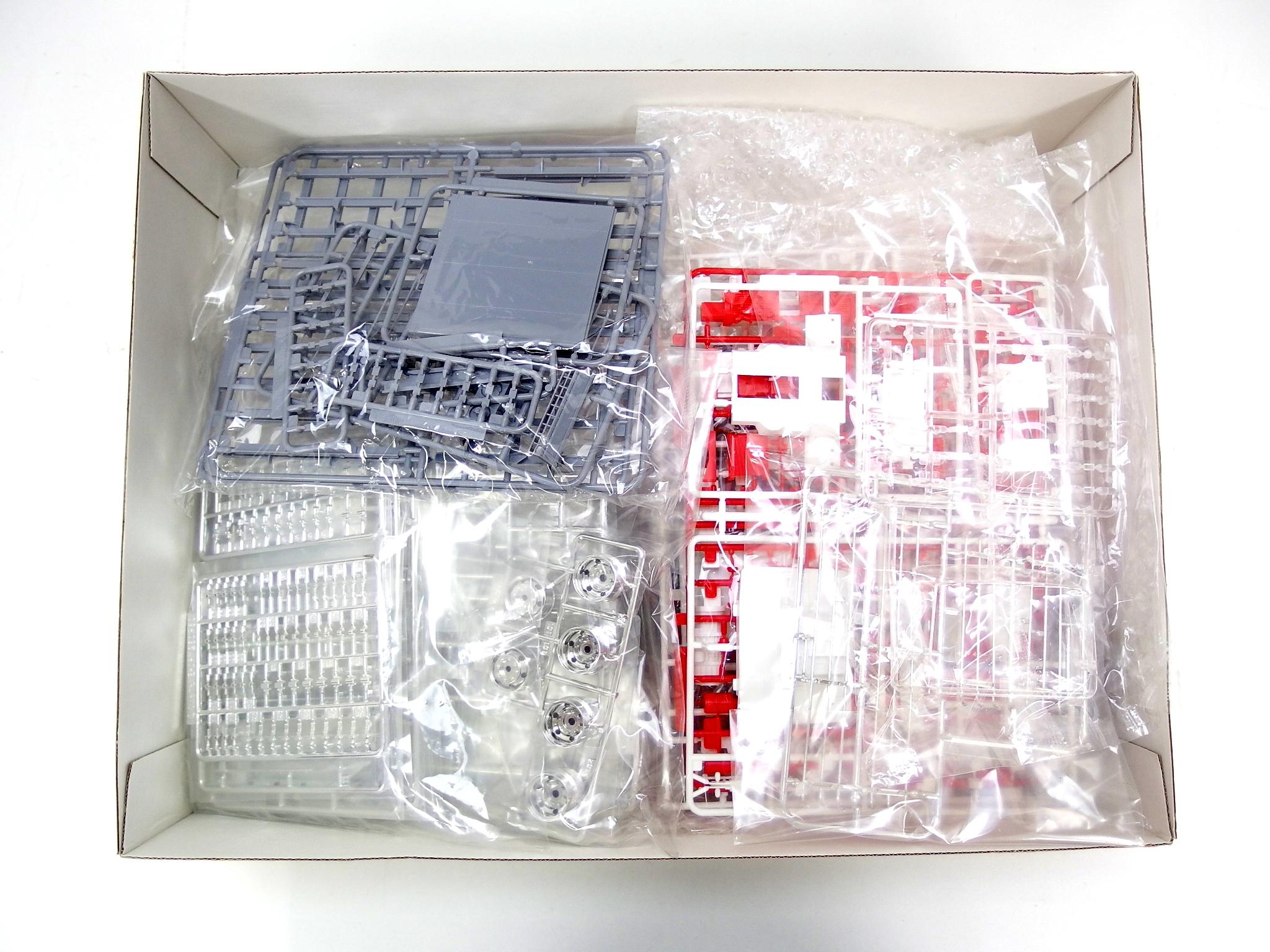 青島文化教材 1/32スケール 三菱ふそう '07 スーパーグレートハイルーフ保冷車