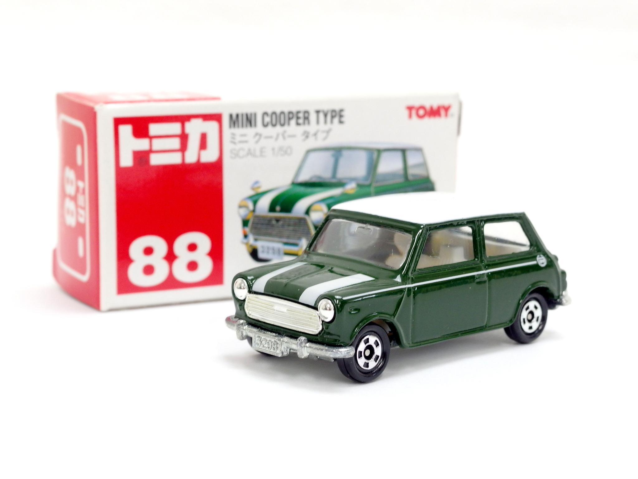 トミカ 88-2 ミニクーパー タイプ 赤箱
