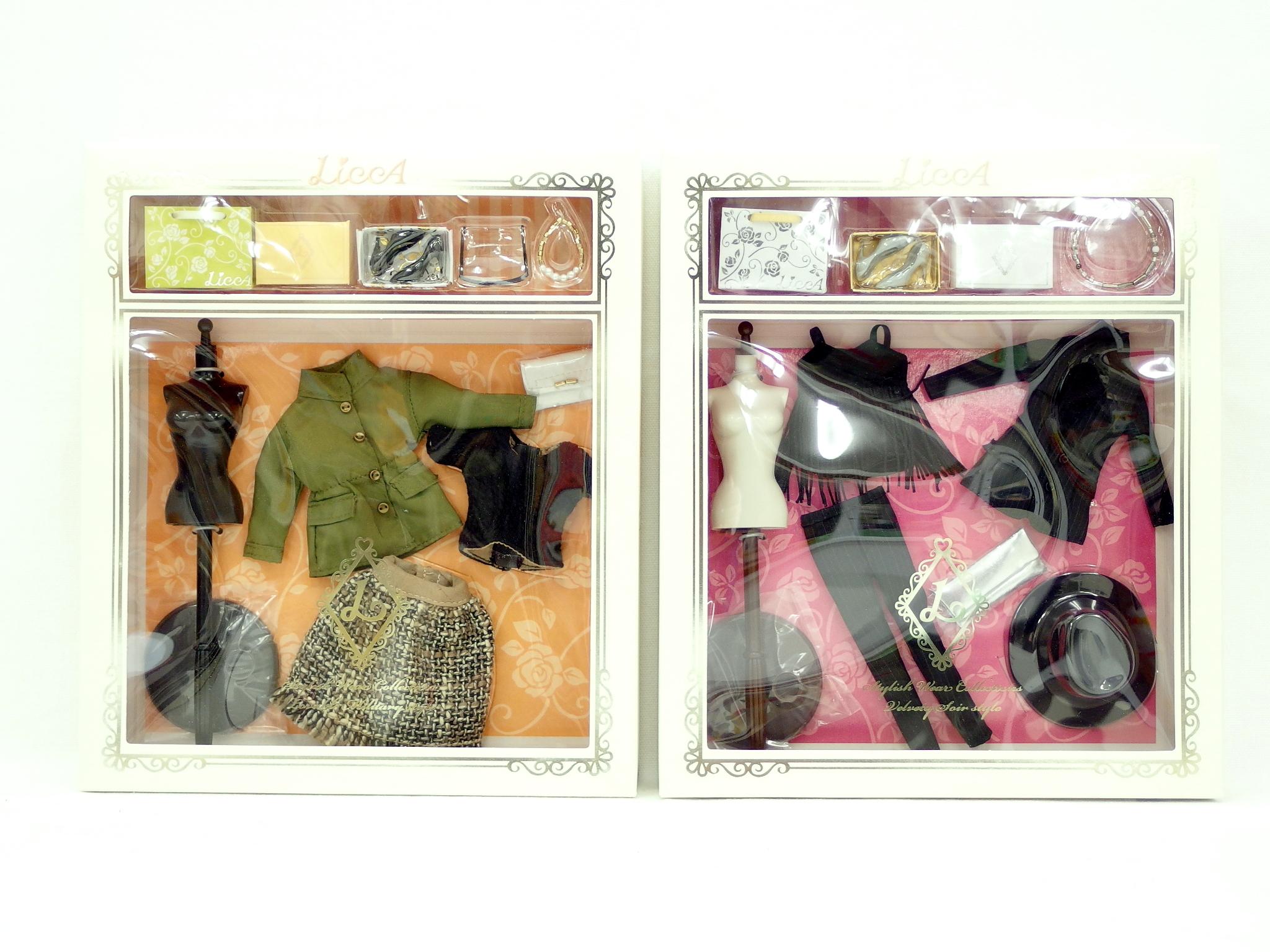 LiccA スタイリッシュドールコレクション ドール&ウエア