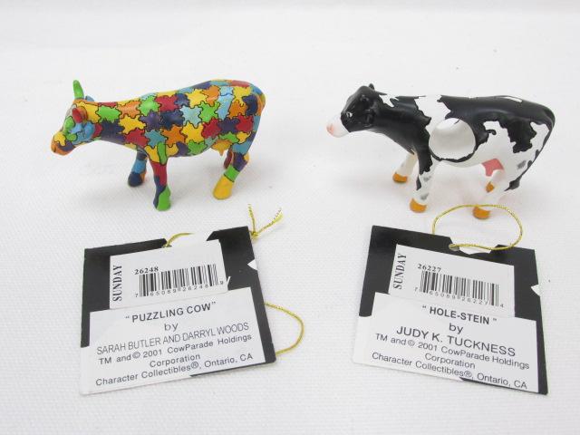 カウパレード cow parade HOLE-STEIN / PUZZLING COW