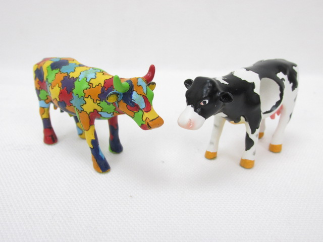 カウパレード cow parade HOLE-STEIN / PUZZLING COW