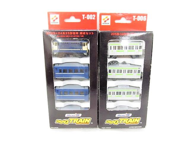 デジQトレイン EF65+24系25形客車編成セット/205系山手線編成セット