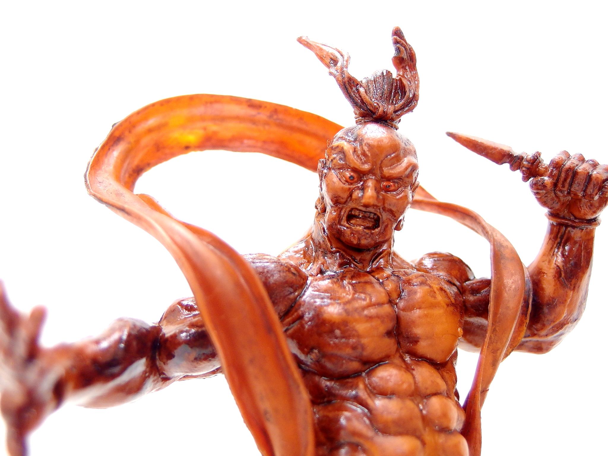 【プライズ品】日本の仏像シリーズ 阿吽フィギュア 阿形&吽形セット