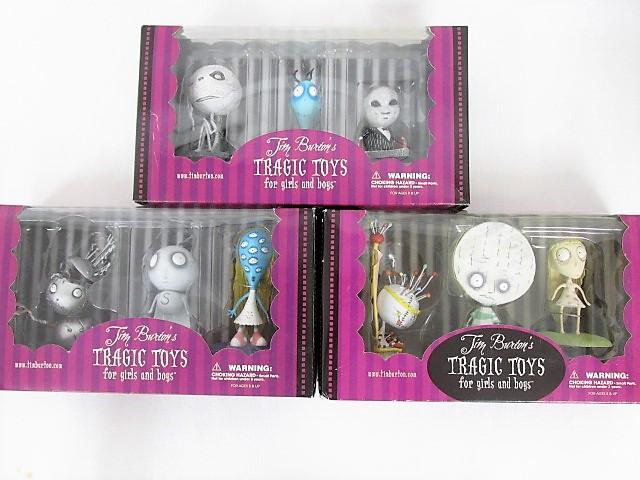 Tim Burton's ティム・バートン TRAGIC TOYS オイスターボーイの憂鬱な死