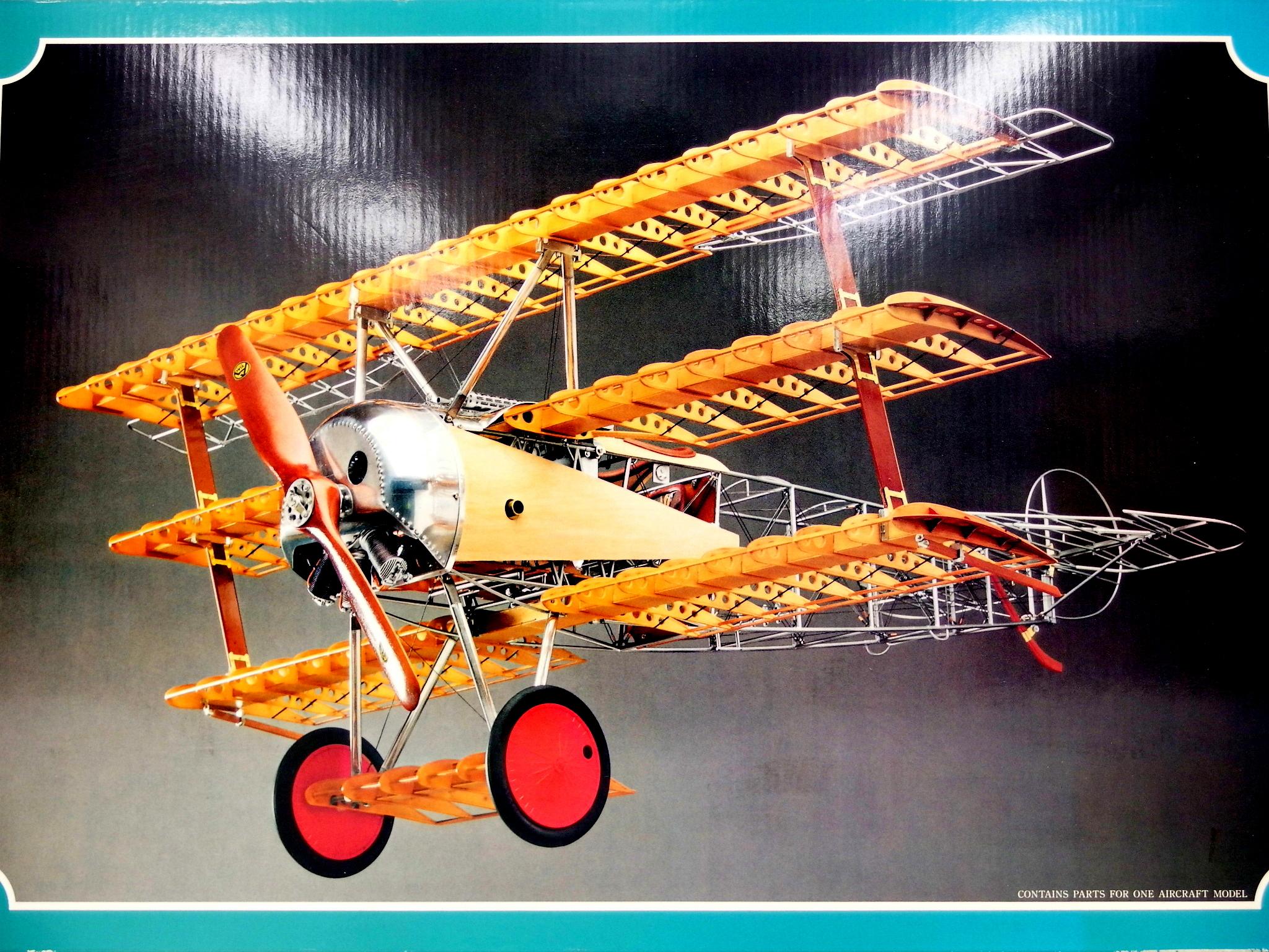 【買取】ハセガワ 1/8スケール ミュージアムモデル 第一次世界大戦 ドイツ戦闘機 フォッカーDr.1