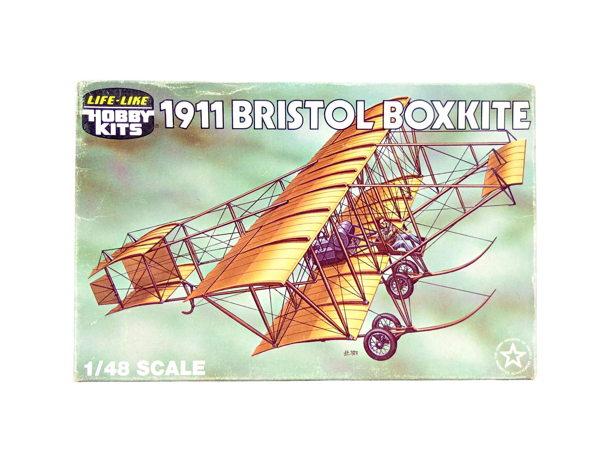 【買取】ライフライク・ホビーキット 1/48スケール ブリストル・ボックスカイト 複葉機 1911 軍用機仕様