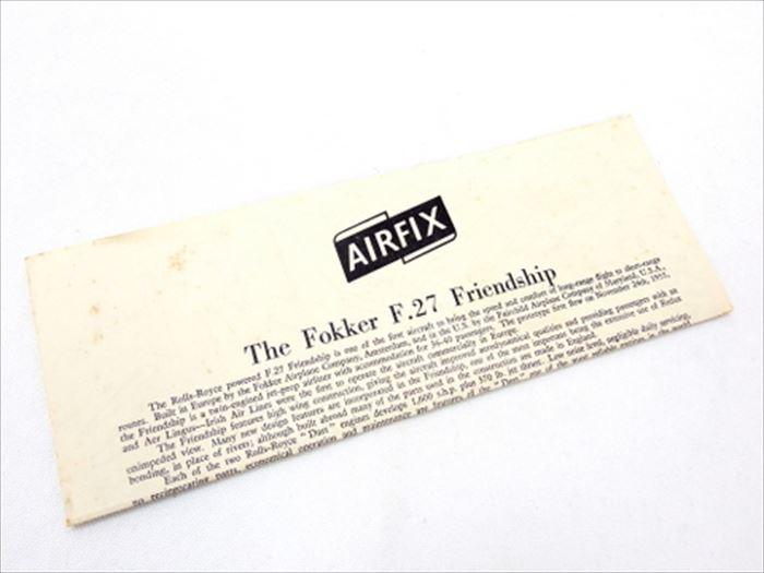 【買取】エアフィックス 1/72スケール フォッカー F.27-100 フレンドシップ エアリンガス