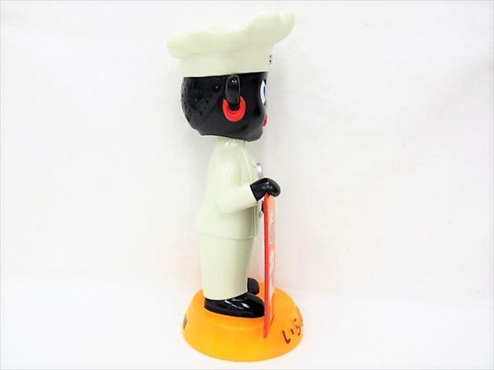 【買取】オリエンタルカレー オリエンタル坊や 首振り人形 [顔黒 約27cm]