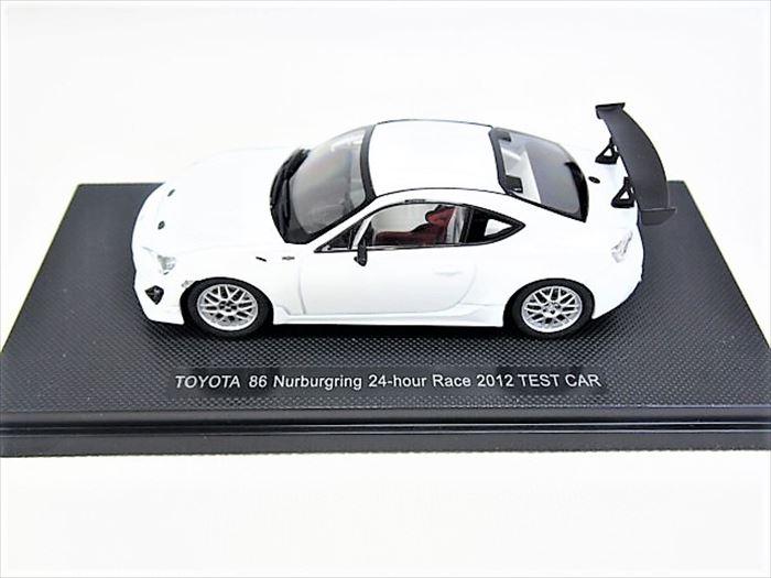 【買取】エブロ 1/43 トヨタ 86 ニュルブルクリンク 24h レース 2012 テストカー [ホワイト]